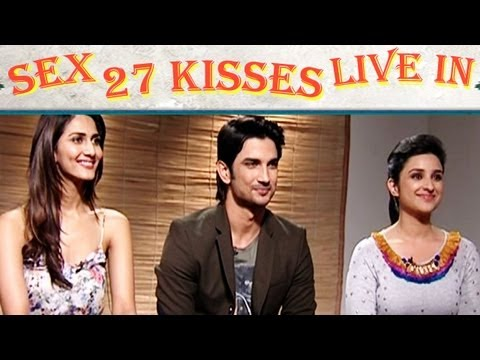 Parineeti Chopra, Sushant talk about Physical Relationship, Sex, 27 Kisses in Shuddh Desi Romance