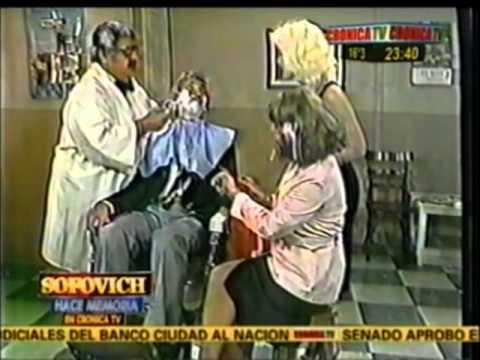 LA PELUQUERIA DE DON MATEO EN OPERACION JAJA 1981