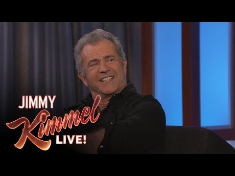 Mel Gibson on His New Baby Andrew Garfield & Vince Vaughn