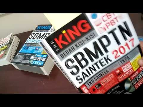 BEDAH BUKU THE KING BEDAH KISI-KISI SBMPTN SAINTEK 2017