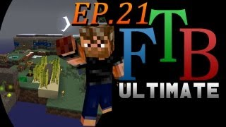 Steam Boiler and Refinery | FTB Ultimate Skyblock | Ep.21