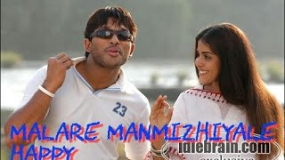 Malare manmiziyale_Happy malayalam movie song(allu arjun)