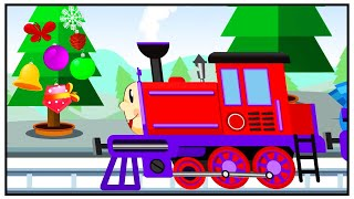 Train Playing with Toys - New Cartoon Animation for children