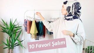 10 Favori Yazlık Şalım │Şallarımı Nasıl Organize Ediyorum?