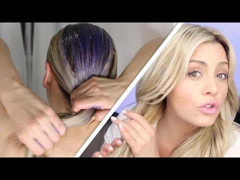 Xxx Mp4 How To Do The Perfect Toning Shampoo Treatment On Blonde Hair 3gp Sex