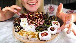 Tasty Turkish Desserts 🍮 Gentle Eating ASMR ○ White Noise ○ Whisper