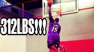 THE HEAVIEST DUNKER IN THE WORLD!!!
