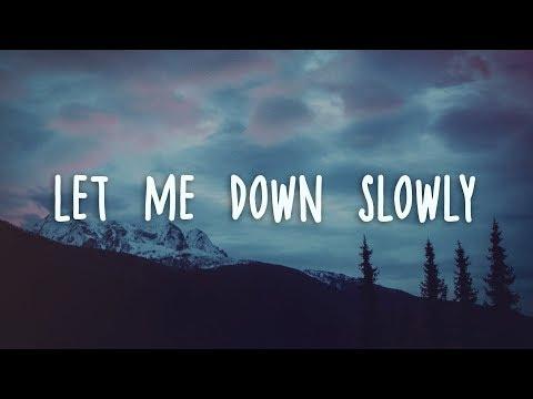 Alec Benjamin Let Me Down Slowly Lyrics