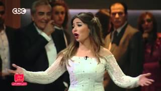 مفيش مشكلة خالص | غادة رجب تبدع في الغناء وهي تبكي وصبحي يتأثر بشدة يحتضنها