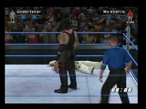 The Undertaker vs Rey Mysterio Smackdown