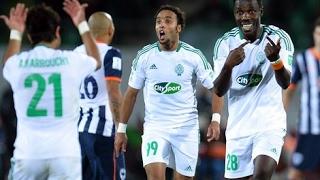 اهداف لقاء ( الرجاء الرياضي 3-0 شباب قصبة تادلة  ) الدورى المغربى