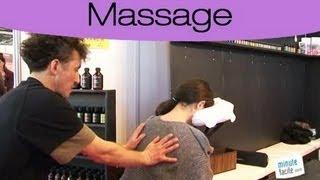 Relaxation : Faire un massage assis