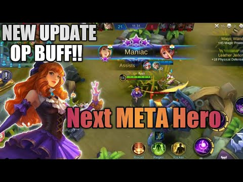 Xxx Mp4 This HERO Will Change The META Guinevere 39 S OP Buff Mobile Legends Bang Bang 3gp Sex