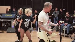 Metallica & Lady Gaga: Pre-Grammy Rehearsal
