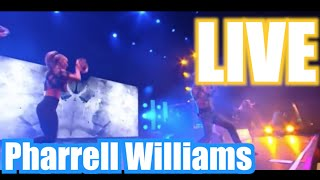 Pharrell Williams Live -  Get Lucky | Happy | Freedom | Blurred Lines