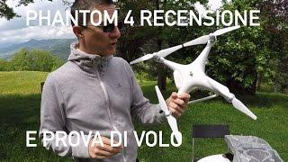 recensione e prova di volo - Phantom 4 - dron-emotions