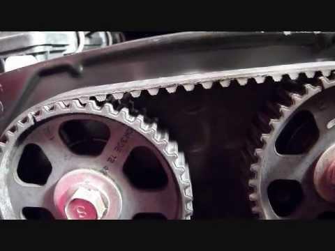 2002 KIA Rio 1.5 Liter Timing Belt Replacement
