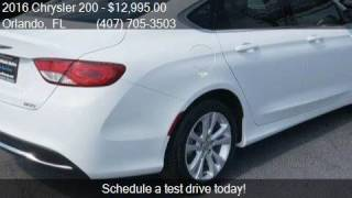 2016 Chrysler 200 Limited 4dr Sedan for sale in Orlando, FL