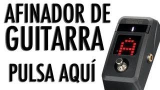AFINADOR DE GUITARRA ACÚSTICA (STANDARD) GRATIS ONLINE Como afinar como se afina