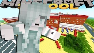Minecraft Adventure : Haunted School Surprise!