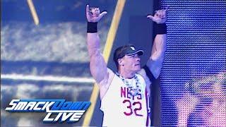 John Cena returns next Tuesday: SmackDown LIVE, June 27, 2017