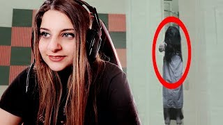 THERE'S A GHOST IN MY YOUTUBE VIDEO! (GHOST CAUGHT ON CAMERA)