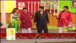 New Stage Drama Tariq Tedi & Mahnoor Video 46