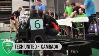 RoboCup 2018 - Round Robin 2 - Highlights