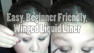 An Easy Way To Do Liquid Liner That Works For Beginners