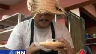Agapito Diaz trabajando en la pasteleria - INN