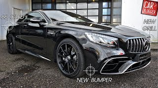 INSIDE the NEW Mercedes-AMG S 63 Coupe 4MATIC+ 2018 | Interior Exterior DETAILS w/ REVS