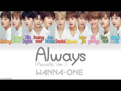 Xxx Mp4 Wanna One 워너원 Always 이 자리에 Acoustic Ver HAN ROM ENG Color Coded Lyrics 3gp Sex