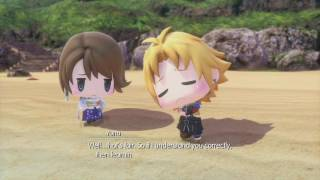 World of Final Fantasy - All Interventions #11: Yuna & Tidus Date?! (Japanese Voices)