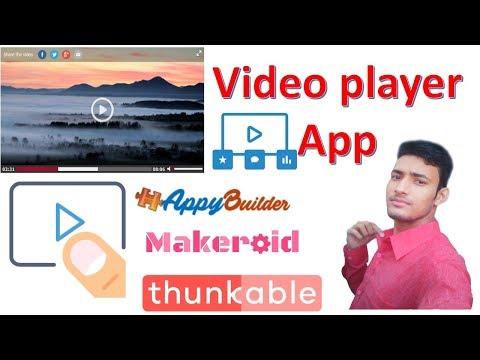 Xxx Mp4 Video Player Professional App Banaye Appybuilder Makeroid Me Thunkable Tutorial In Hindi 3gp Sex