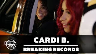 Cardi B Tries to Break World Record for Questions at a Drive Thru
