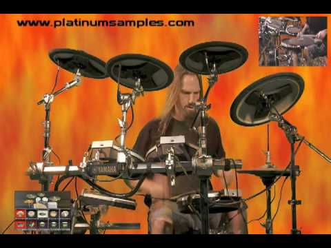 Platinum Samples Bobby Jarzombek Evil Drums for BFD and BFD2