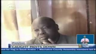 Pastor caught cheating in Nairobi.