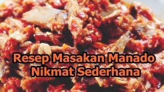 Resep Masakan Manado Nikmat Sederhana