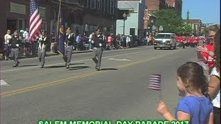 Salem Columbiana County Ohio Memorial Day Parade 2017