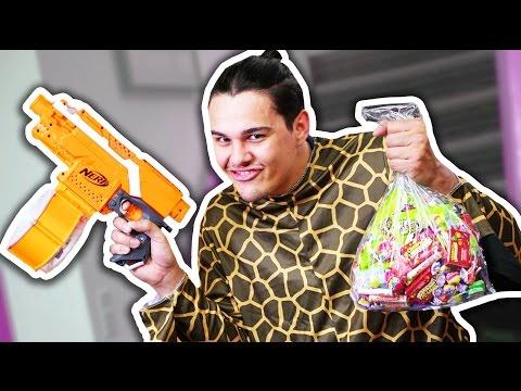 NERF Candy Thief Challenge