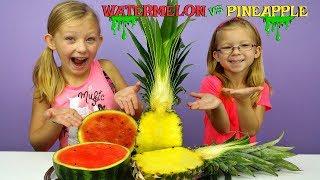WATERMELON Slime vs PINEAPPLE Slime Challenge!!! * DIY Viral Slimes Tested!!!