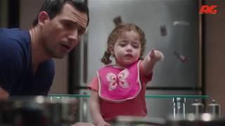 ده شكل الراجل لما يربي بنته الصغيرة لواحده في البيت 😂😂