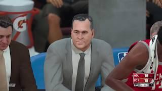 NBA Today Houston Rockets vs Portland Trailblazers Full Game NBA Highlights NBA 2K18