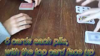 Spit Card Game (Speed game 2)