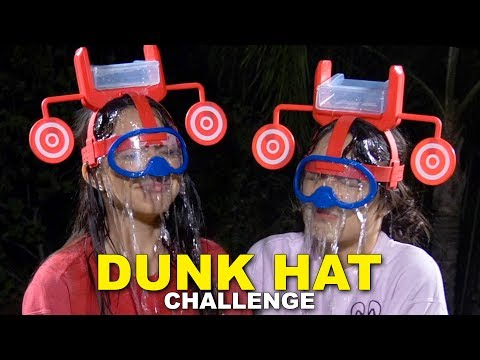 DUNK HAT CHALLENGE Merrell Twins