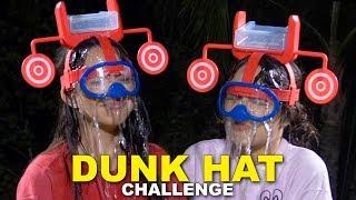 DUNK HAT CHALLENGE - Merrell Twins