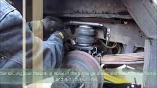 Truck/ Suspension Airbag Installation (Firestone Ride Rite)