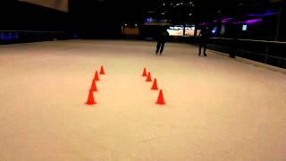 freestyle ice skating  breaks  ashish freestyler IGT contestant