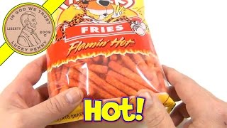 Chester's Fries Flamin' Hot (Viewer Request - Shout Out) FritoLay Website Snack Locations Search