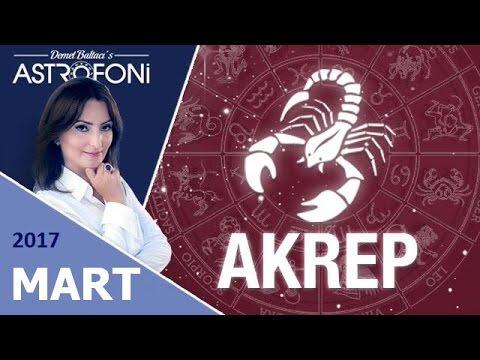 AKREP Burcu MART 2017 Astroloji ve Burç Yorumu